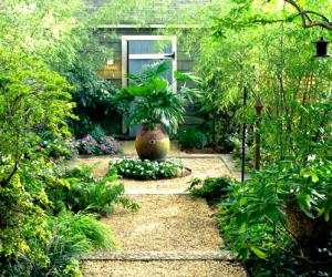 Bahçe dekorasyon ve peysaj düzeni