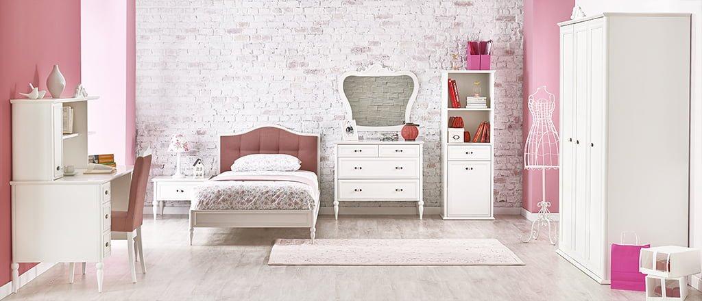 kelebek-mobilya-beauty-genc-odasi Kelebek Mobilya Genç Odası Tasarımları