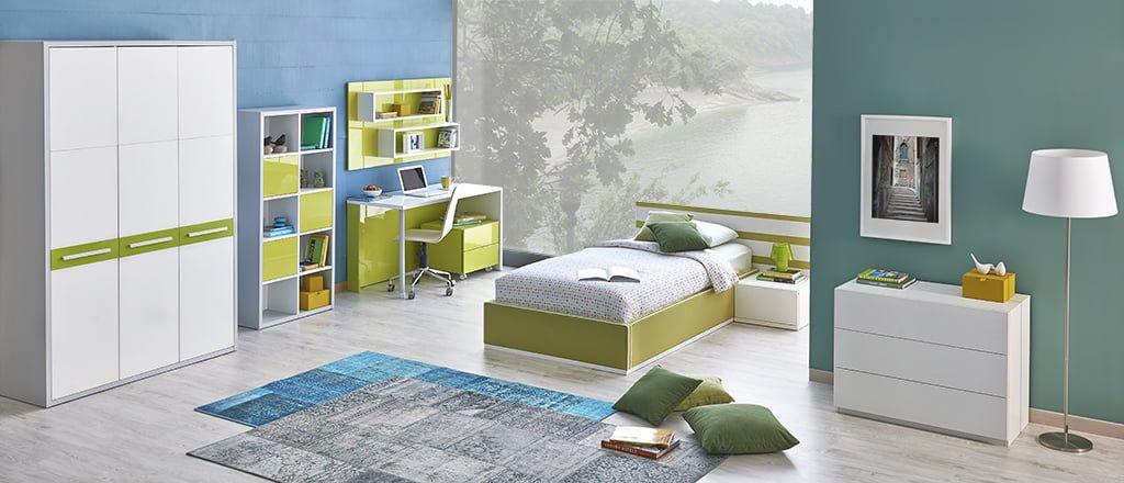 kelebek-mobilya-ikorro-genc-odasi Kelebek Mobilya Genç Odası Tasarımları