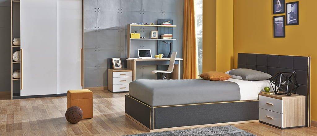 kelebek-mobilya-lidor-genc-odasi Kelebek Mobilya Genç Odası Tasarımları