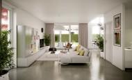 Modern lüks daire dekorasyon fikirleri
