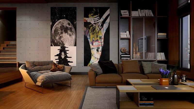 oturma-odasi-duvar-tablo-dekorasyonlari-5