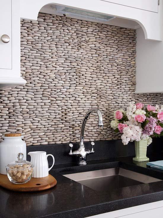 Mutfak lavabo arkası duvar dekorasyon fikirleri 11