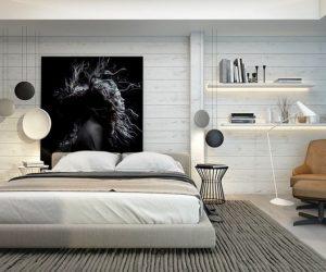 Yatak odası duvar dekorasyon modelleri