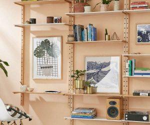 Dekoratif duvar raf sistemleri ve modelleri
