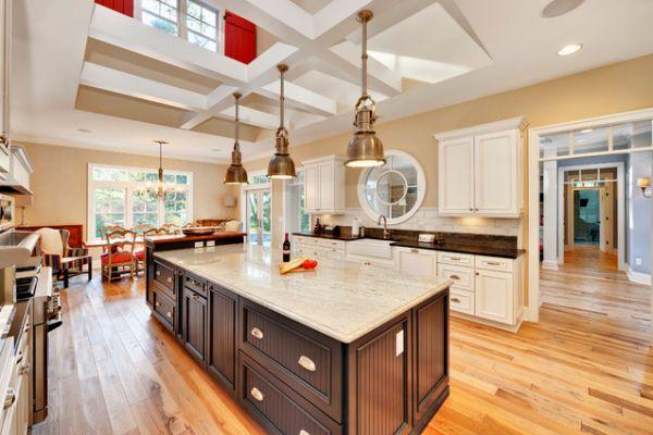 Ada tipi mutfak dekorasyon fikirleri 13