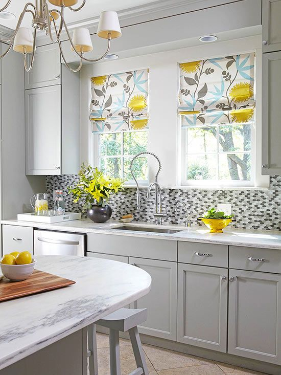 Yeni tasarım mutfak perde modelleri 47
