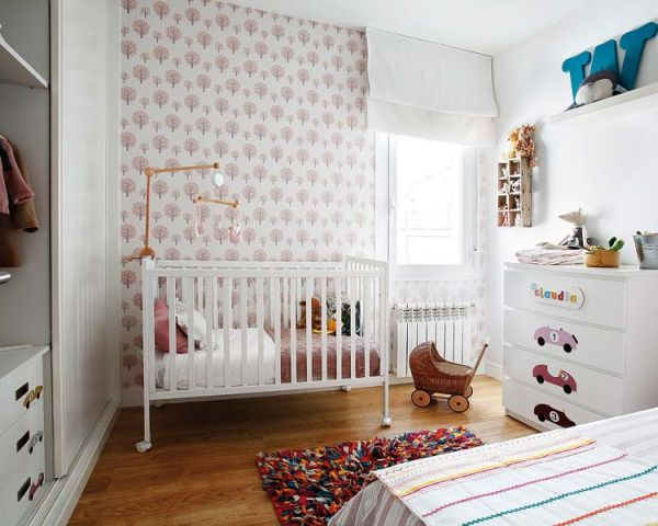 iskandinav-daire-bebek-odasi-dekorasyon