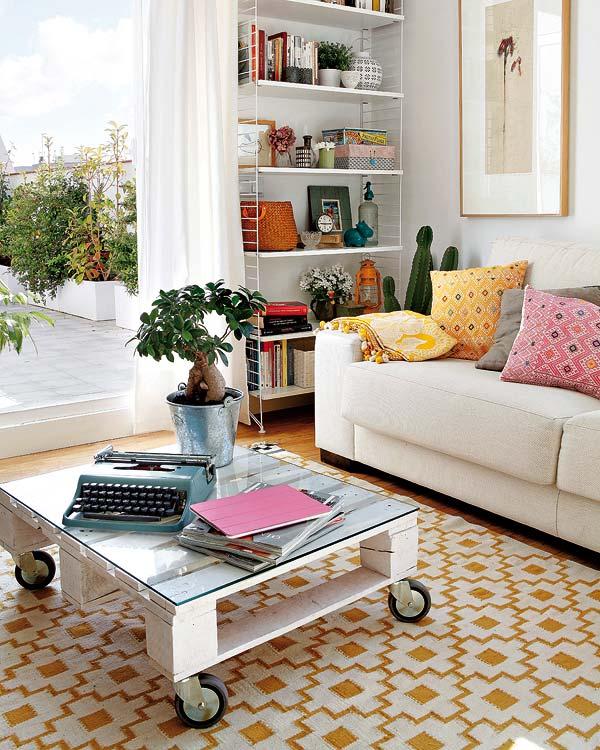 Balkonla Oturma Odasını Birleştirme Fikirleri 7