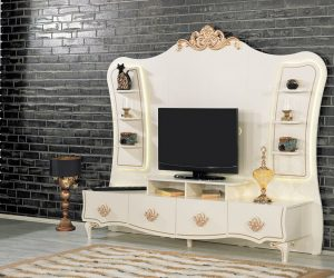 Kilim mobilya LCD tv ünite modelleri