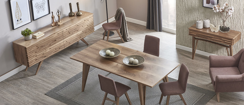 Kelebek mobilya yemek odası modelleri 22