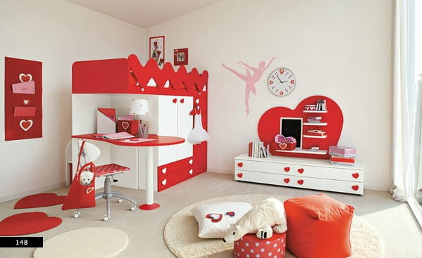 kirmizi-kiz-odasi-mobilyalari