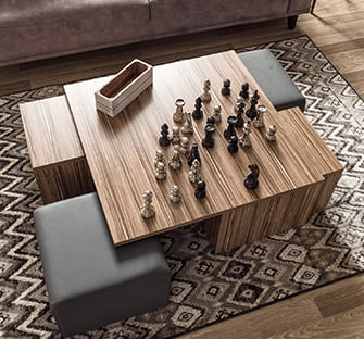 ahşap ceviz sehpa enza mobilya ahşap yan ve orta sehpa modelleri