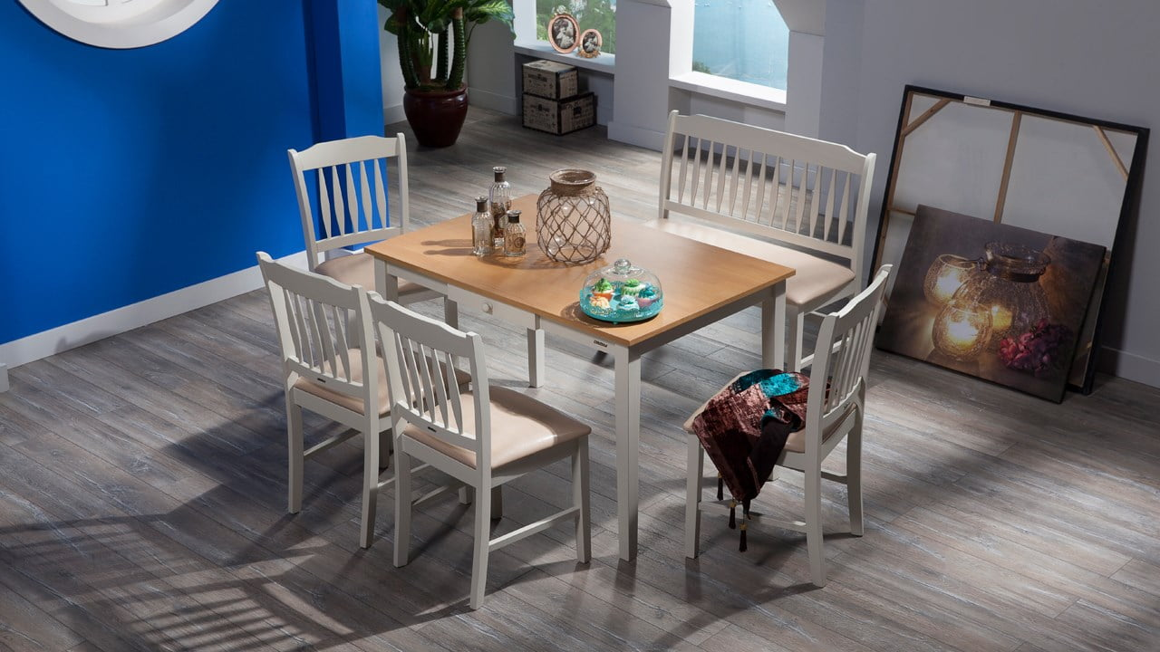 yeni tasarım mutfak masaları
