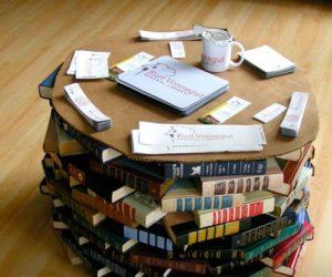 Kitaplar İle Ev Dekorasyonuna Farklılık Katmak