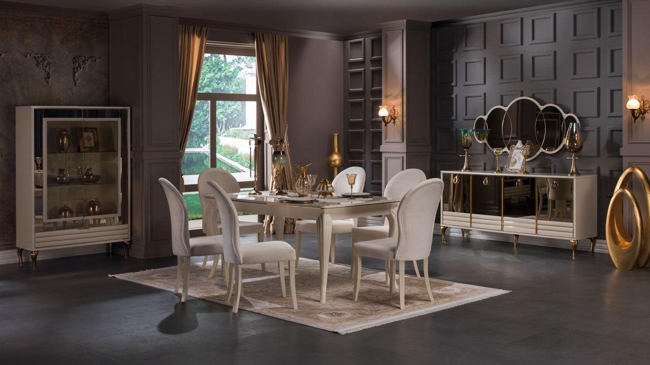 İstikbal Mobilya 2017 Yemek Odası Modelleri 1