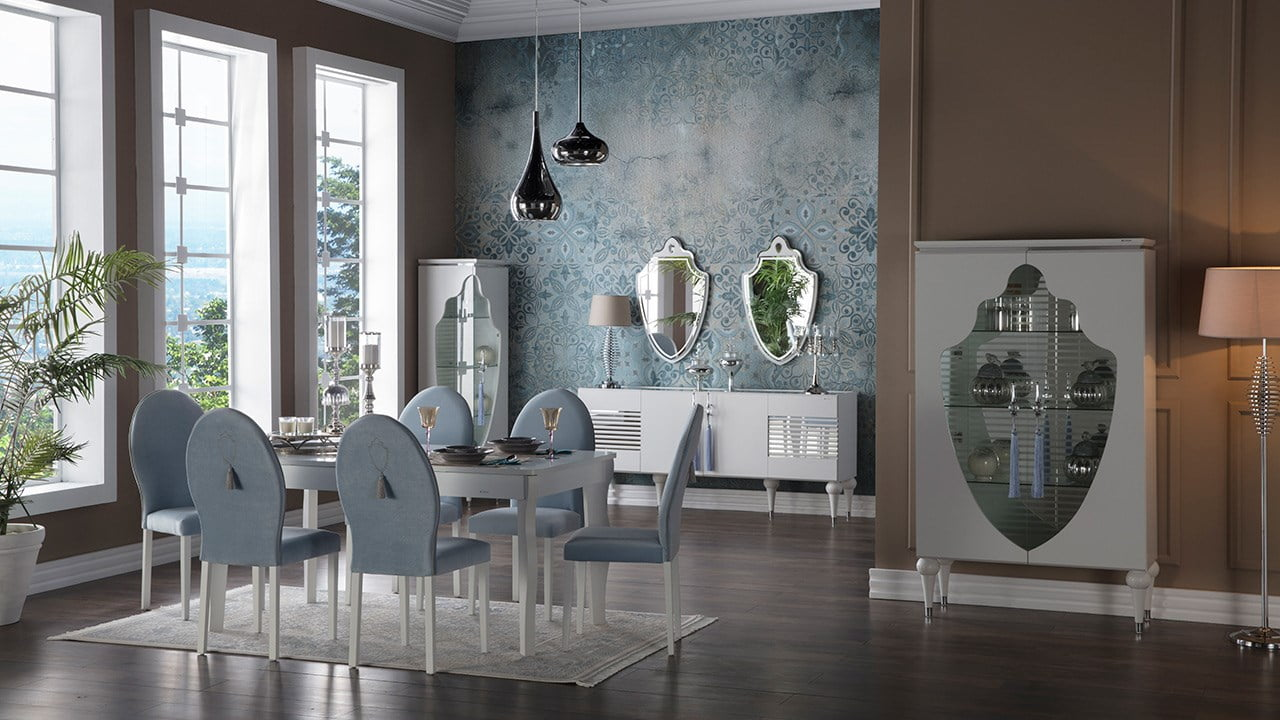 İstikbal Mobilya 2017 Yemek Odası Modelleri 4