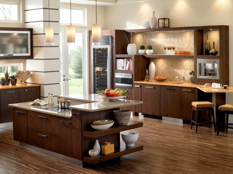 mutfak zemin tasarımları
