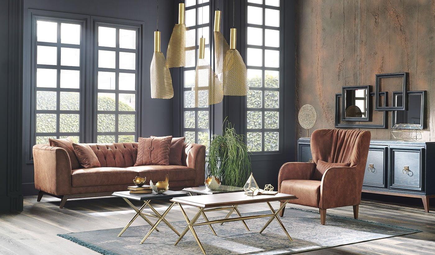 Enza Home Elegante Koltuk Modeli enza home 2018 koltuk takımı modelleri