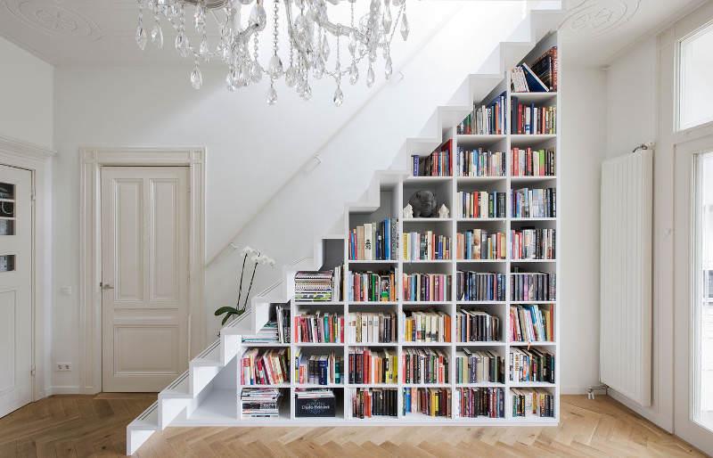 Evinize Kütüphane Oluşturmanız İçin Dolap Ve Raf Fikirleri 2