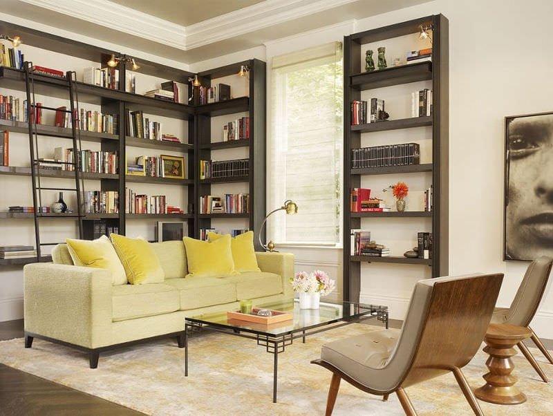 Evinize Kütüphane Oluşturmanız İçin Dolap Ve Raf Fikirleri 11