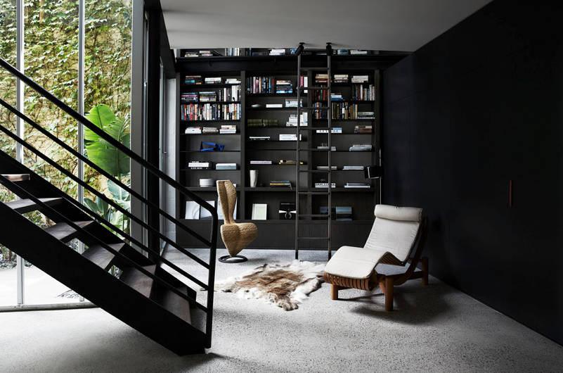 Evinize Kütüphane Oluşturmanız İçin Dolap Ve Raf Fikirleri 12