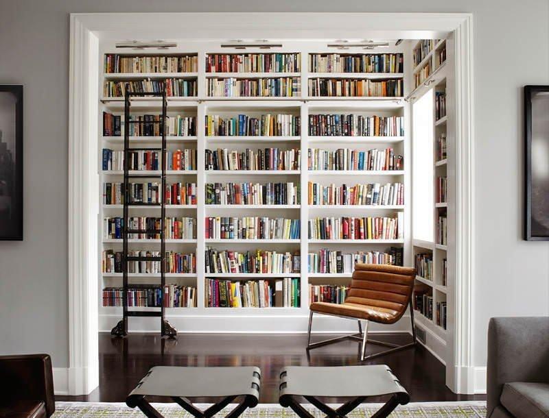 Evinize Kütüphane Oluşturmanız İçin Dolap Ve Raf Fikirleri 13