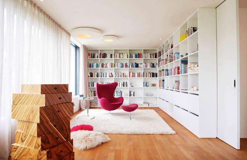 Evinize Kütüphane Oluşturmanız İçin Dolap Ve Raf Fikirleri 14
