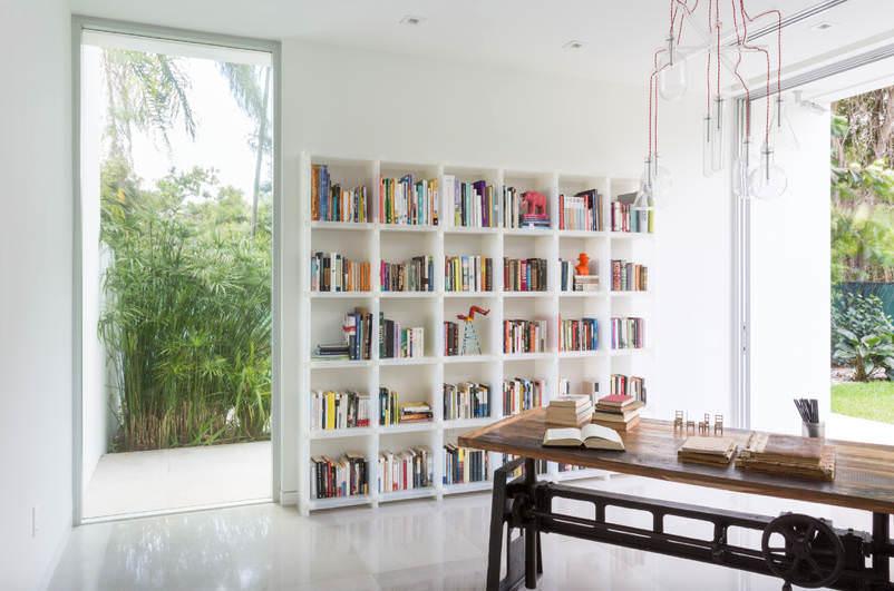 Evinize Kütüphane Oluşturmanız İçin Dolap Ve Raf Fikirleri 15