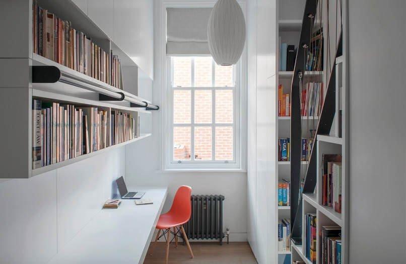 Evinize Kütüphane Oluşturmanız İçin Dolap Ve Raf Fikirleri 3