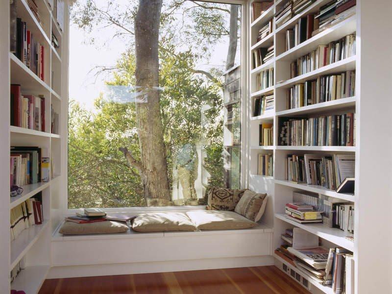 Evinize Kütüphane Oluşturmanız İçin Dolap Ve Raf Fikirleri 6