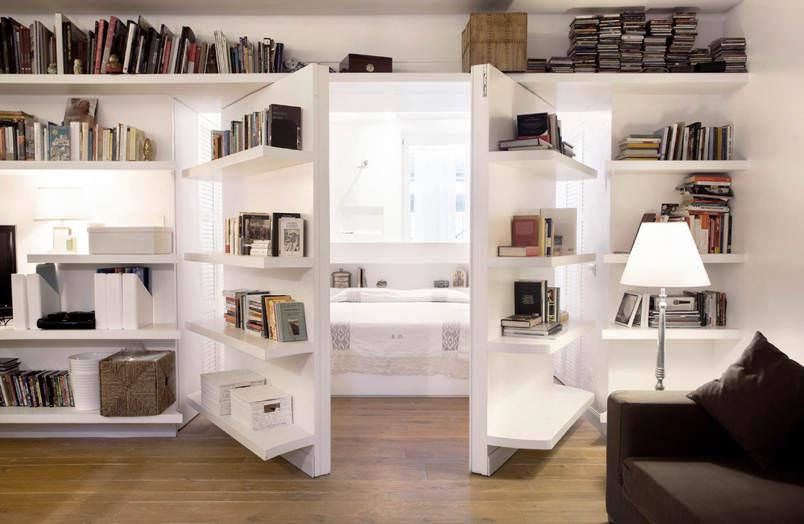 Evinize Kütüphane Oluşturmanız İçin Dolap Ve Raf Fikirleri 8