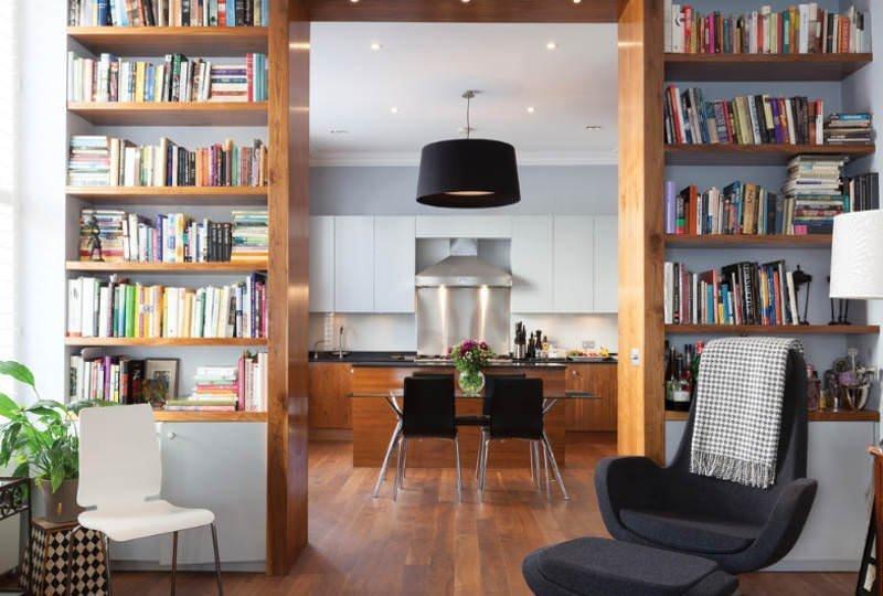Evinize Kütüphane Oluşturmanız İçin Dolap Ve Raf Fikirleri 9