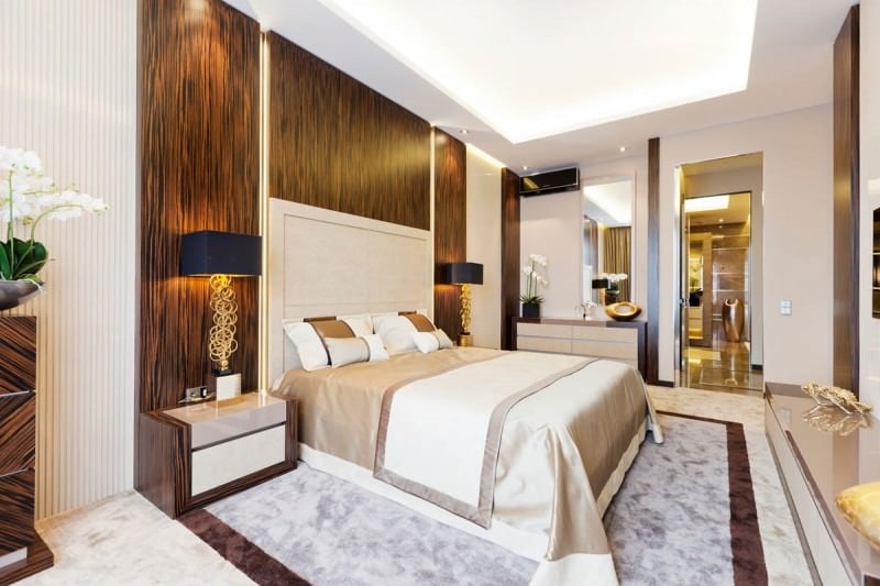 Yatak Odası Dekorasyonunda Etkileyici Stiller 35