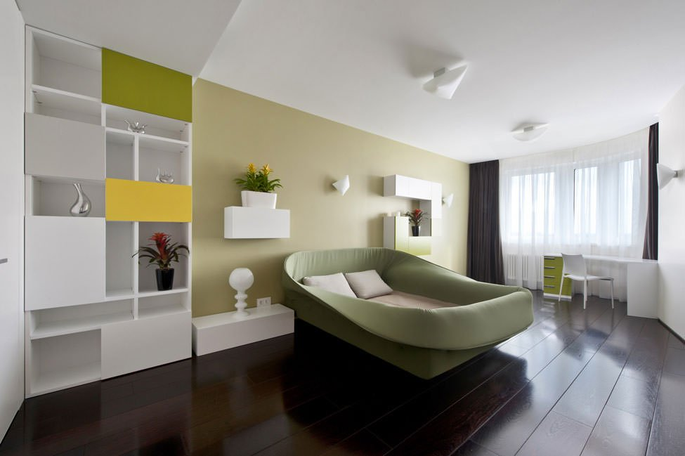 modern yatak odası dekorasyon stilleri