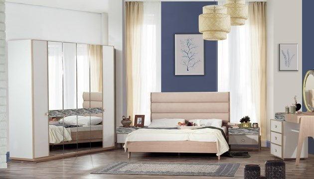 yatak odası gardırop modelleri Kilim Mobilya 2018 Tasarım Yatak Odası Modelleri