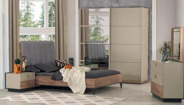 yatak odası modelleri 2018 Kilim Mobilya 2018 Tasarım Yatak Odası Modelleri