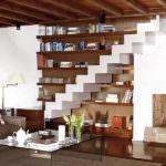 Merdiven Altına Çalışma Ve Depolama Alanı Oluşturma 16
