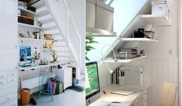 merdiven altı kullanma fikirleri