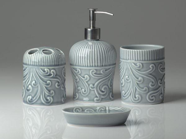 sabunluk modelleri Banyo Sabunluk Ve Aksesuar Setleri