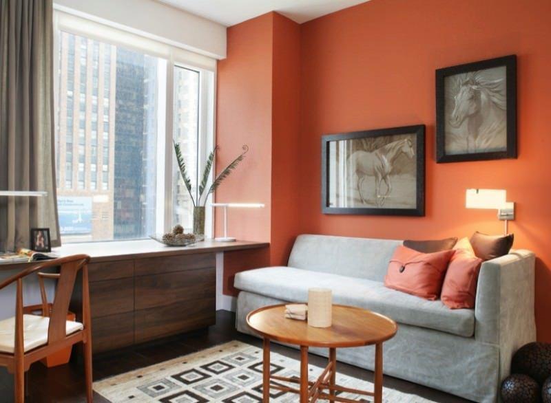 Turuncu Renk İle Ev Dekorasyon Fikirleri 8