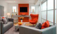 Turuncu Renk İle Ev Dekorasyon Fikirleri