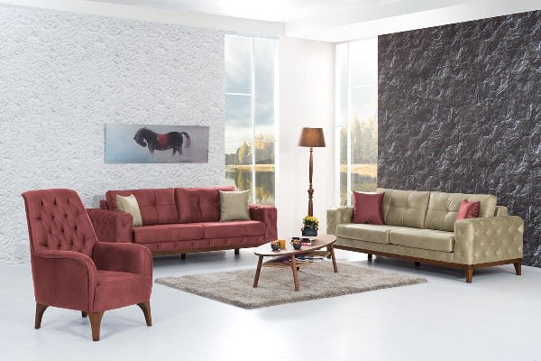 Aldora mobilya bold koltuk takımı modeli