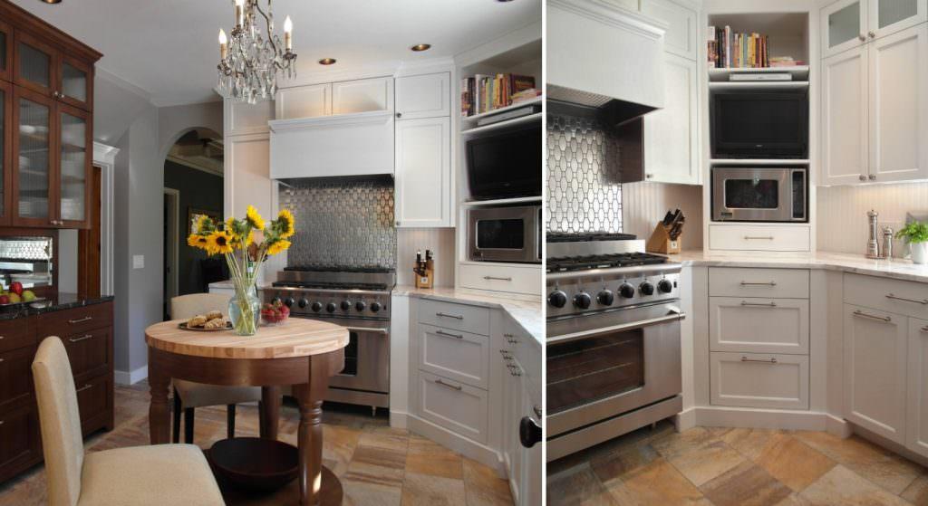 Mutfağınız İçin Köşe Dolap Tasarımları Ve Modelleri 1