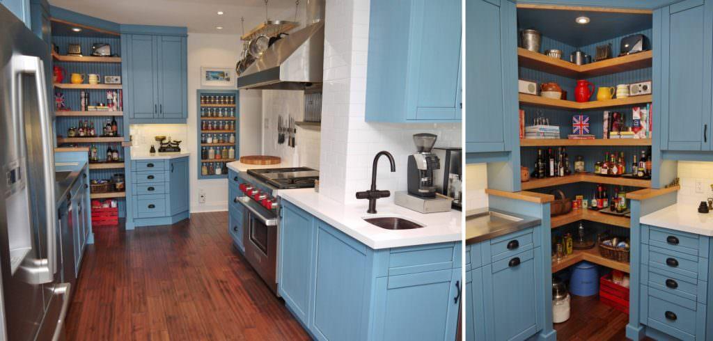 Mutfağınız İçin Köşe Dolap Tasarımları Ve Modelleri 2
