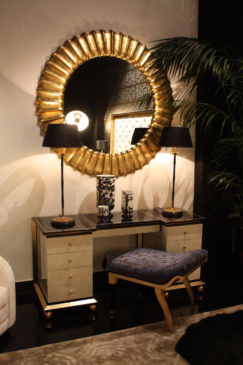 Yatak Odanız için Modern Lüks Makyaj Masası Modelleri 2