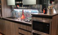 İki Renkli Mutfak Dolap Modelleri