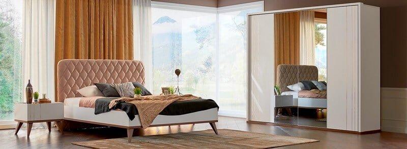 alfemo mobilya kibar yatak odası