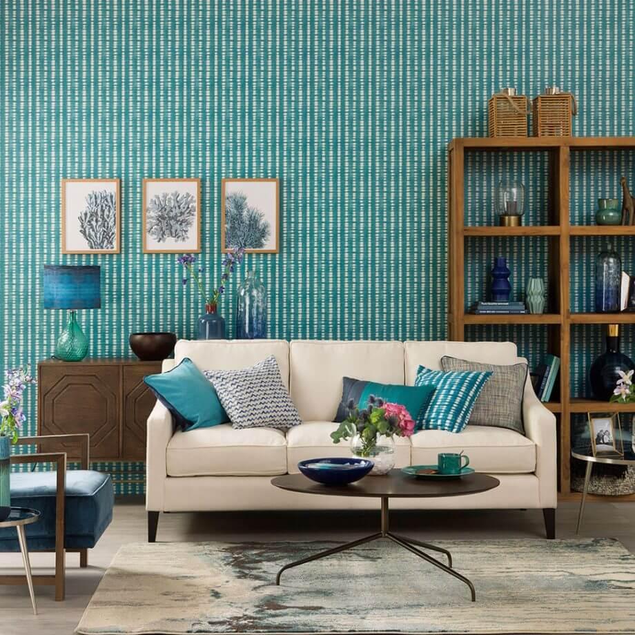 modern dekoratif oturma odası
