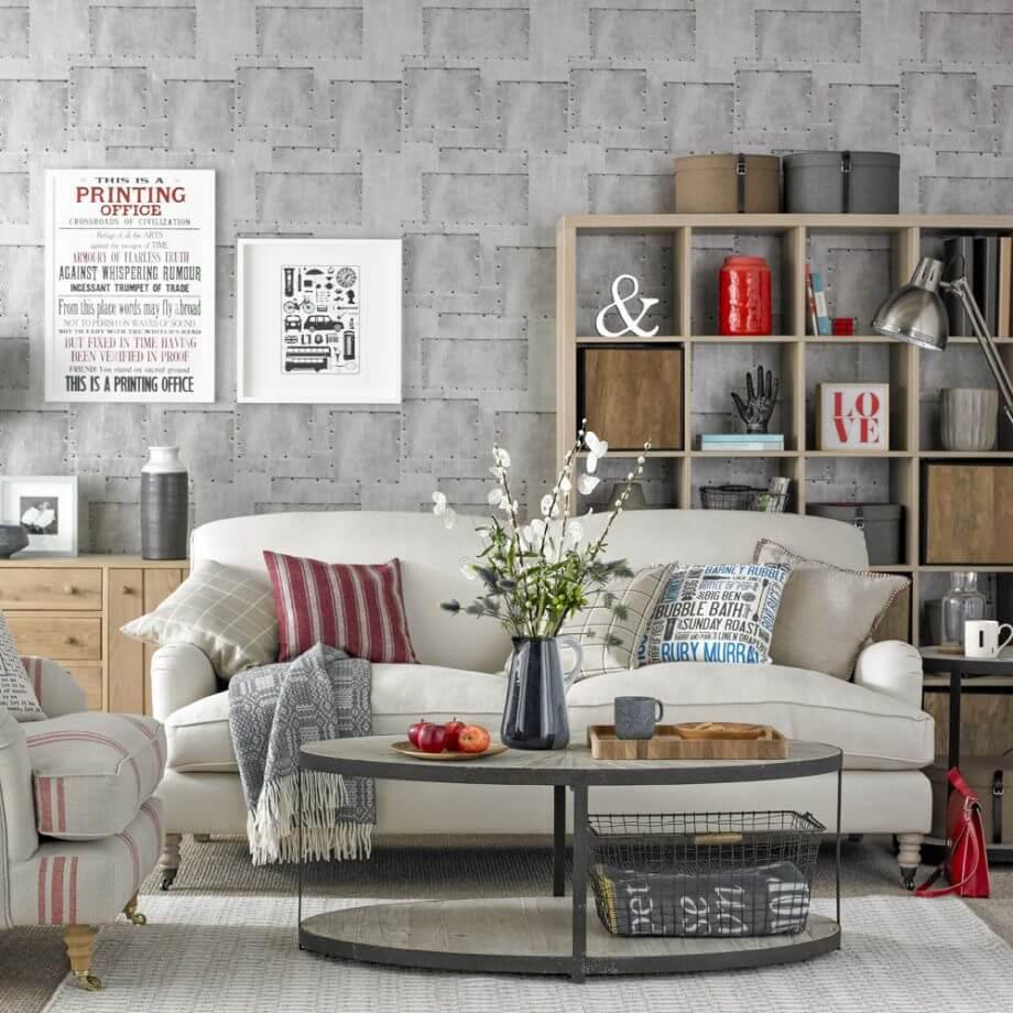 güzel oturma odası dekorasyon